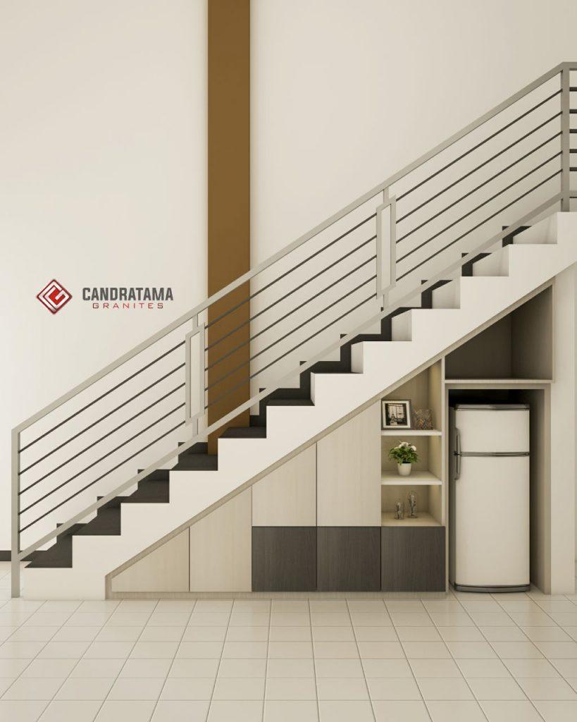 pemilihan warna lemari bawah tangga
