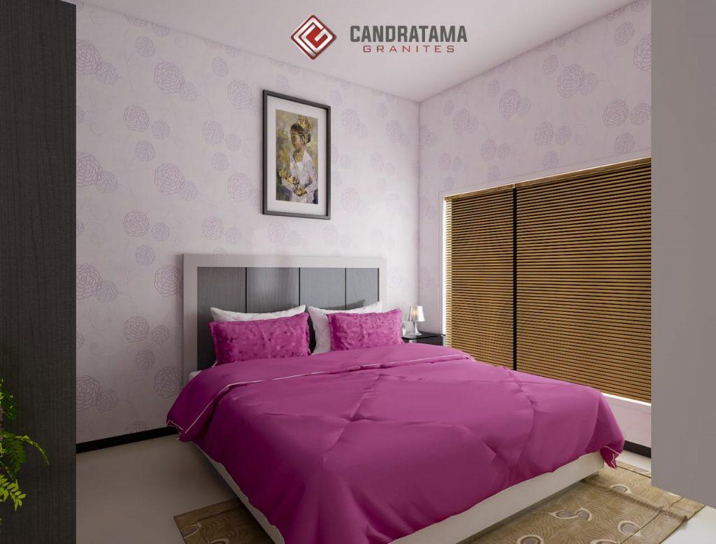 kamar tidur elegan dan mewah