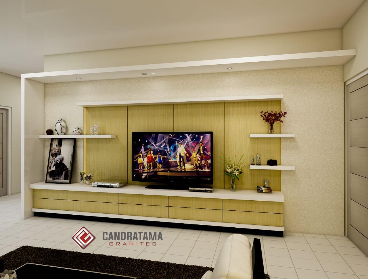 backdrop tv minimalis modern