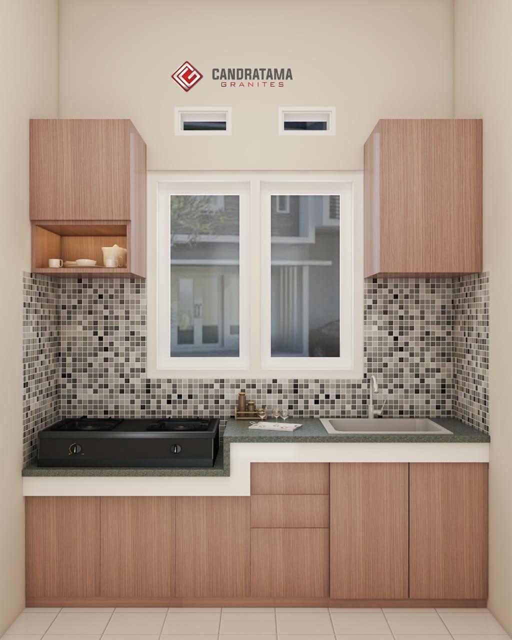 kitchen set murah Candratam Granites