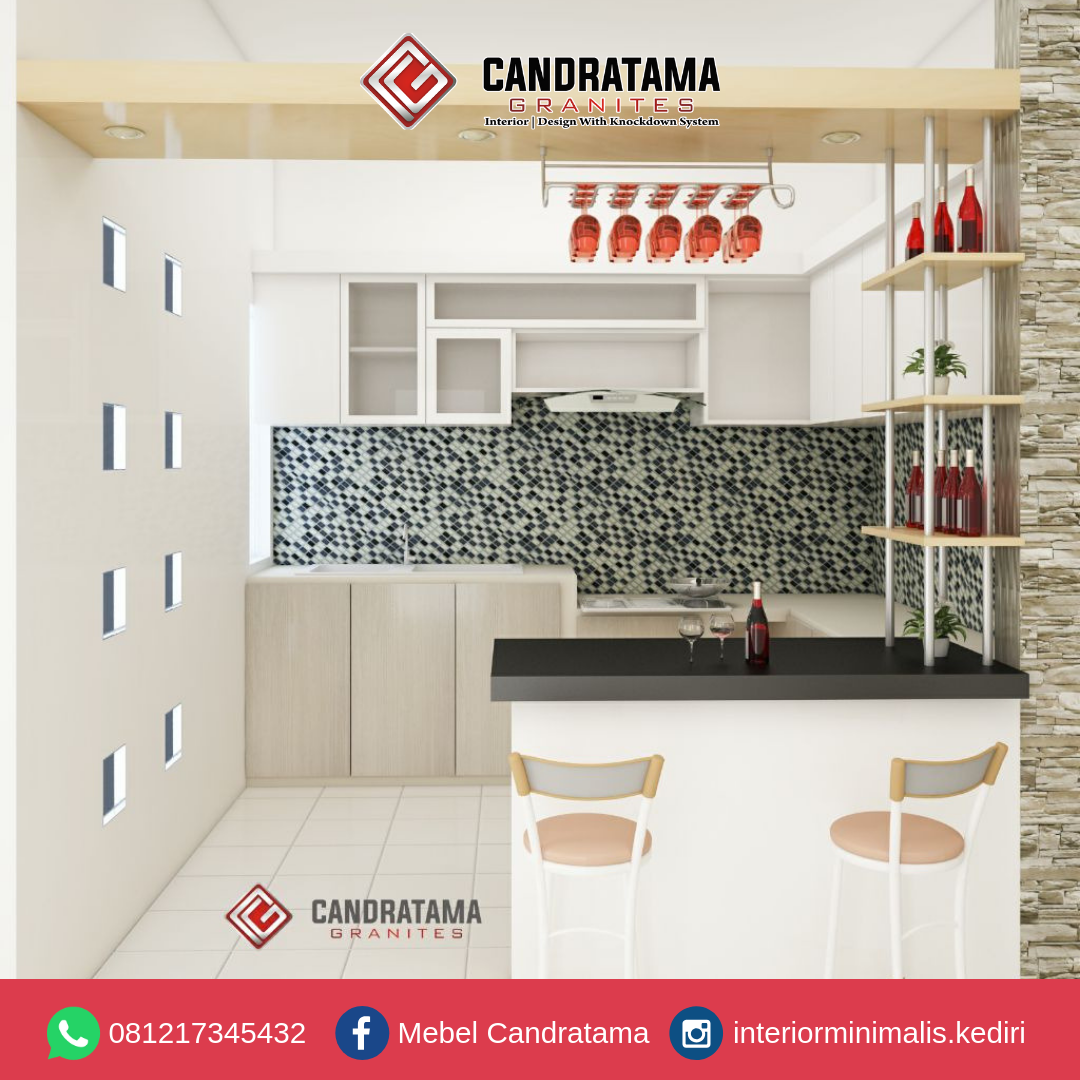 inspirasi kitchen set minimalis 2019