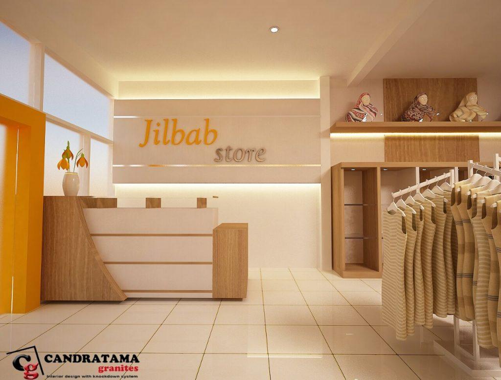design interior butik minimalis modern