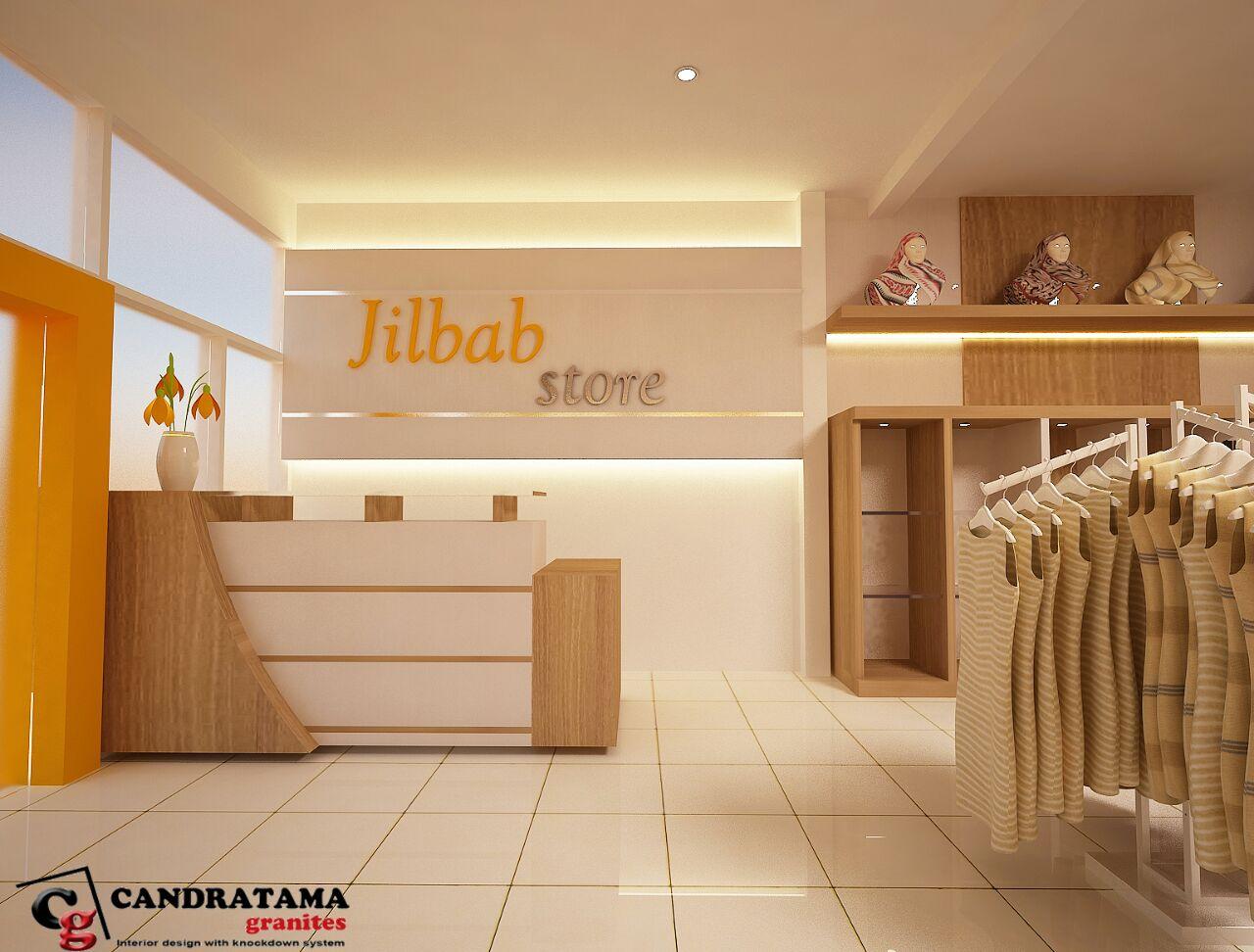 interior butik minimalis