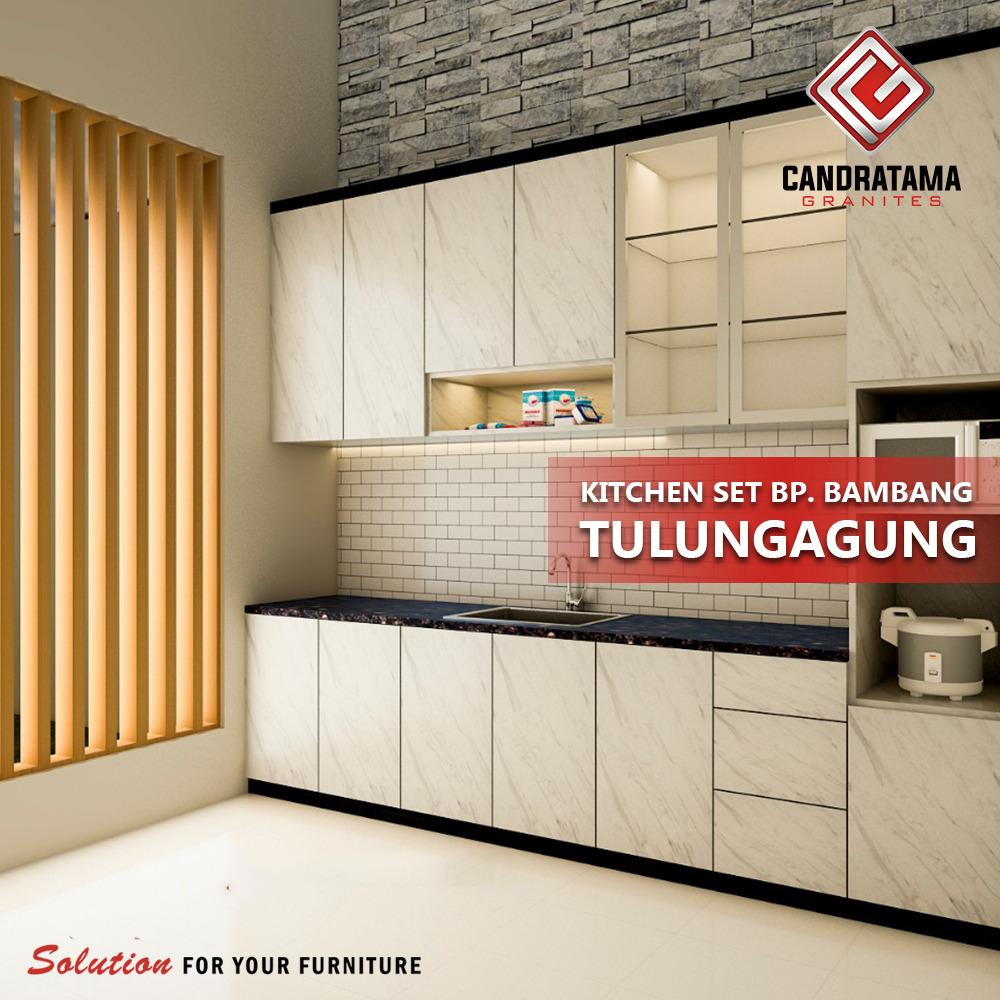kitchen set custom minimalis