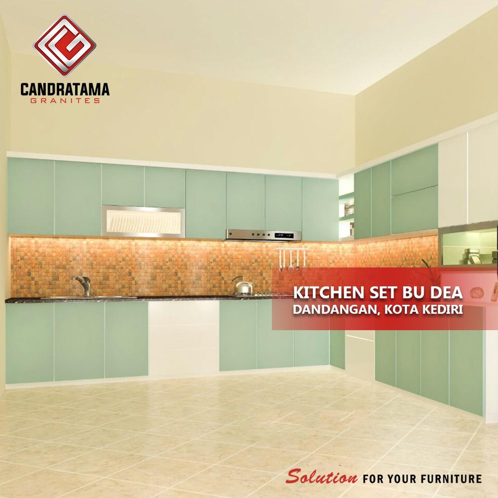 mengatur zoning kitchen set