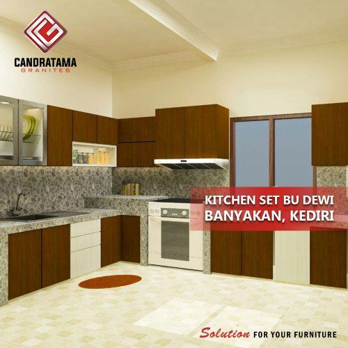 penerapan kitchen set