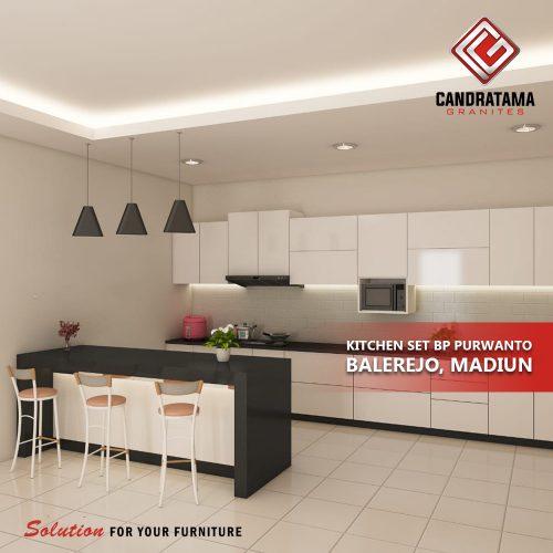 kitchen set minimalis unik