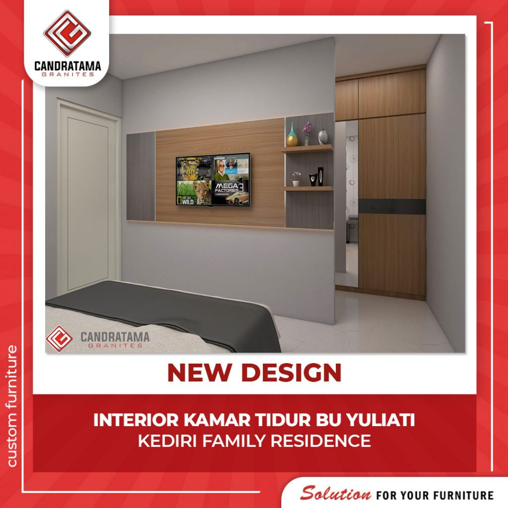 backdrop tv kamar minimalis