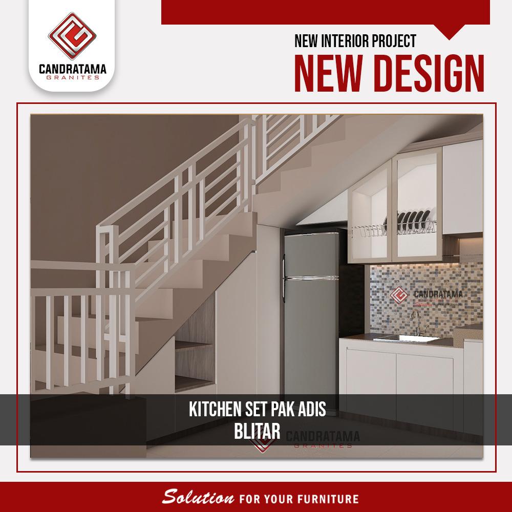 desain dapur bawah tangga
