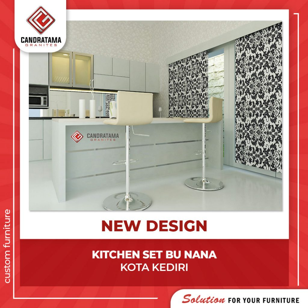 kitchen set island mewah