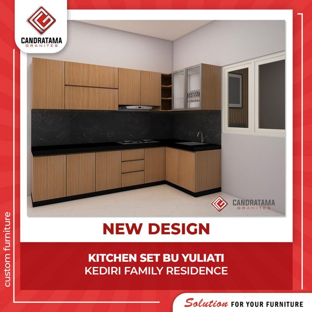 desain kitchen set rumah