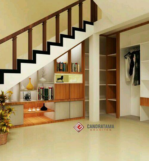 model interior bawah tangga