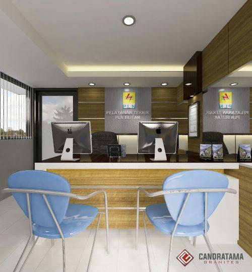 lobby kantor minimalis