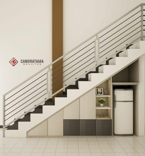 lemari bawah tangga terbaru
