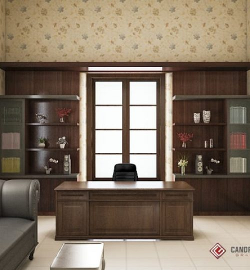 kantor gaya klasik terbaik