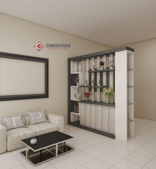 merancang ruang tamu